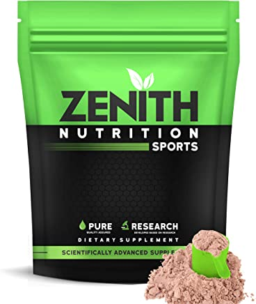 Zenith Nutrition Mass Gainer++ with Enzyme blend | 17gm Protein | 51gm Carbs | Added Glutamine | Lab tested (Double Rich Chocolate, 750gm)