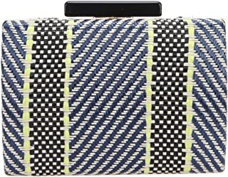 Bonjanvye Twill Weave Evening Bags and Party Purse for Women Clutch