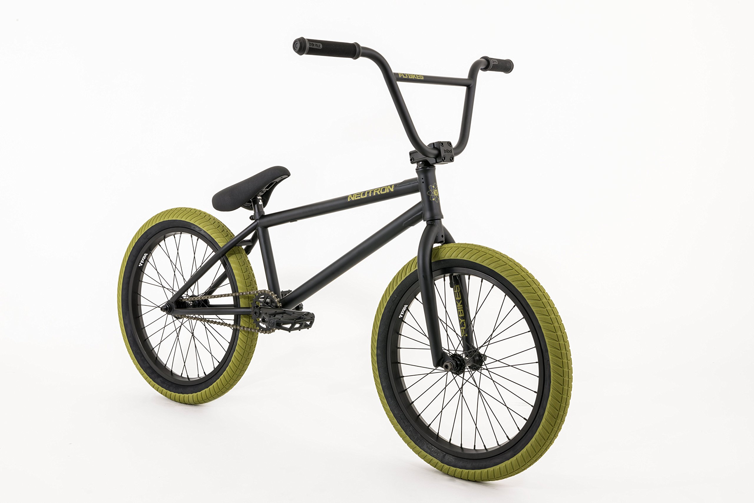 FLYBIKES Neutron - Bicicleta BMX, Color Negro: Amazon.es: Deportes ...