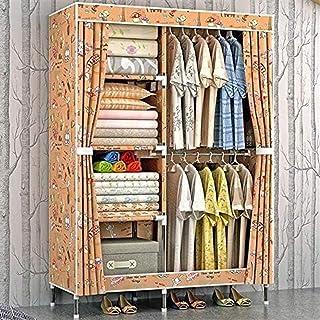 Liuyu Armoire en tissu pour vêtements pliable et portable Couleur : B