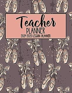 Teacher Planner 2019 - 2020 Lesson Planner: Dance Teacher Gift   Ballet Shoes Ballerina   Mauve Pretty Weekly Lesson Plan   School Education Academic ... Gift (Teacher Lesson Planners 2019-2020)