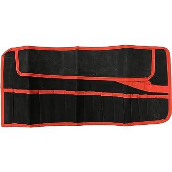 Estuche para herramientas enrollable, tela, 16 bolsillos.: Amazon.es: Bricolaje y herramientas
