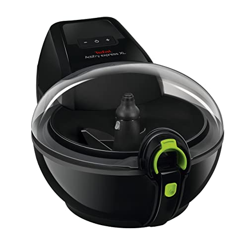 Tefal Actifry Air Fryer AH950840 Family Express Xl Low Fat Healthy Fryer, 1.7 Kg - Black