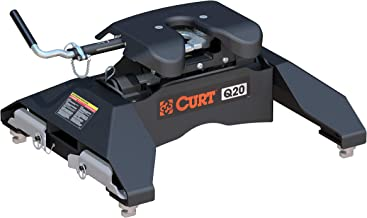 CURT 16065 Black Q20 5th Wheel Hitch for Chevrolet, GMC Puck System, 20,000 lbs.