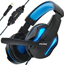 ENHANCE PC Gaming Headset for PS4 & Computer with 7.1 Surround Sound - Voltaic PRO Esports Computer Headphones with Microp...
