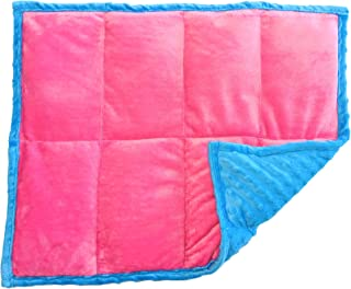 ReachTherapy Solutions))) Weighted Lap Pad for Kids - Portable Lap Blanket for School   3 lbs - Tickled Pink   Click to See More Colors & Sizes