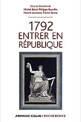 1792 Entrer en République (Hors Collection) Format Kindle