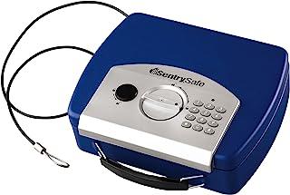 SentrySafe P008EBL 0.08 Cubic Foot Electronic Compact Safe Blue