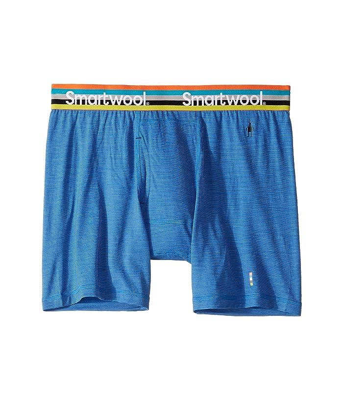 Smartwool Merino 150 Pattern Boxer Brief (Bright Cobalt) Men