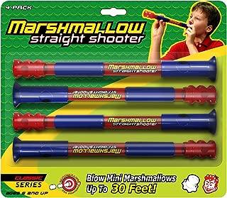 Marshmallow Fun Company 1127 Marshmallow Fun Straight Shooter, Classic, Pack of 4