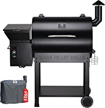 Z Grills ZPG-7002B 2020 Upgrade Wood Pellet Grill & Smoker, 8 in 1 BBQ Grill Auto..
