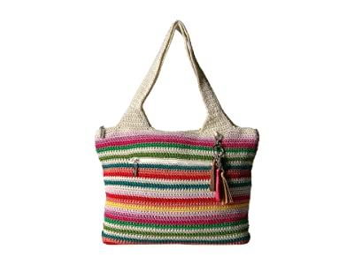 The Sak Casual Classics Large Tote (Cali Stripe) Tote Handbags