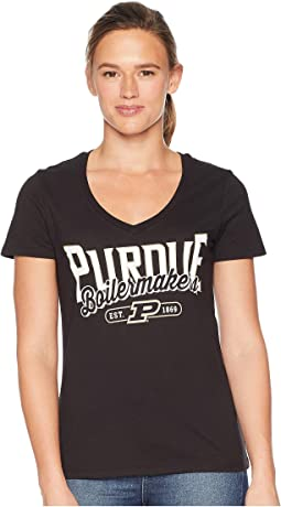 Purdue Boilermakers University V-Neck Tee