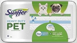 Swiffer Sweeper Heavy Duty Drying Cloths - 20ct, Lavender Vanilla & Comfort