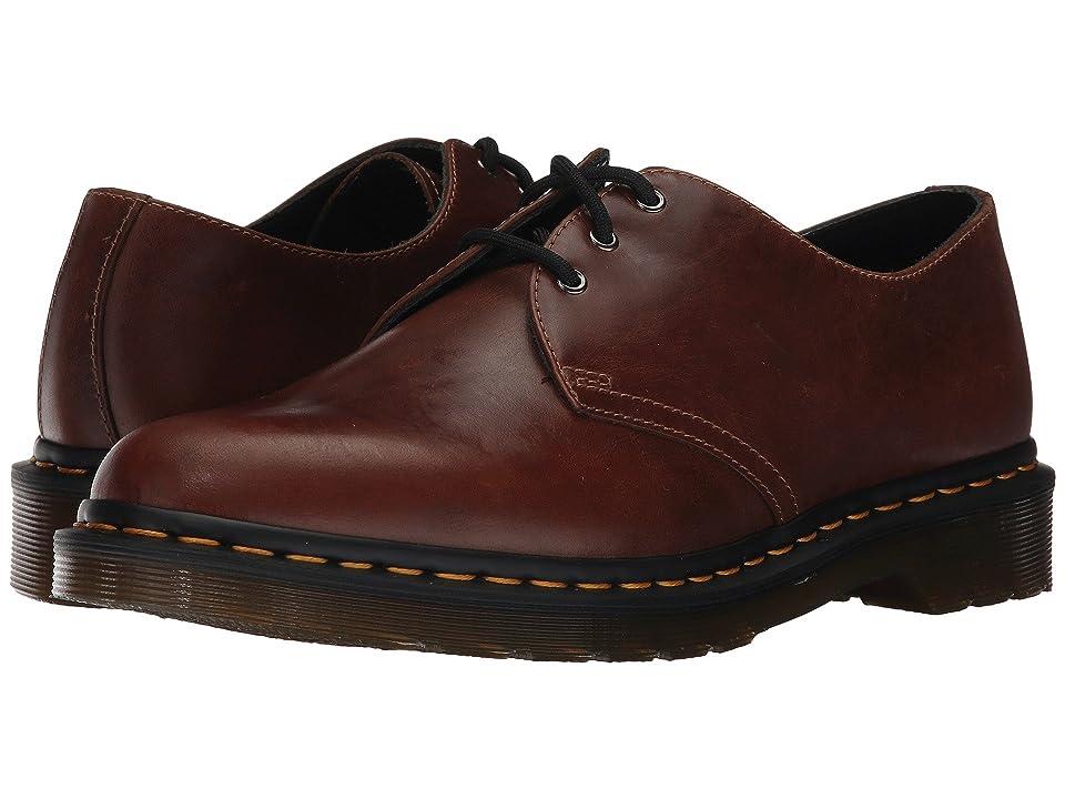 Dr. Martens 1461 3-Eye Shoe (Butterscotch Orleans) Men