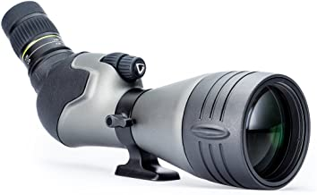 Vanguard Endeavor HD 82A Angled Eyepiece Spotting Scope, 20-60 x 82, ED Glass, Waterproof/Fogproof