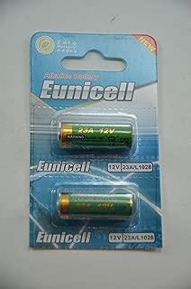 2x Eunicell A23 / 23A / MN21 / GP23a / A23 / E23A 12v Alkaline Battery Batteries - BRAND NEW