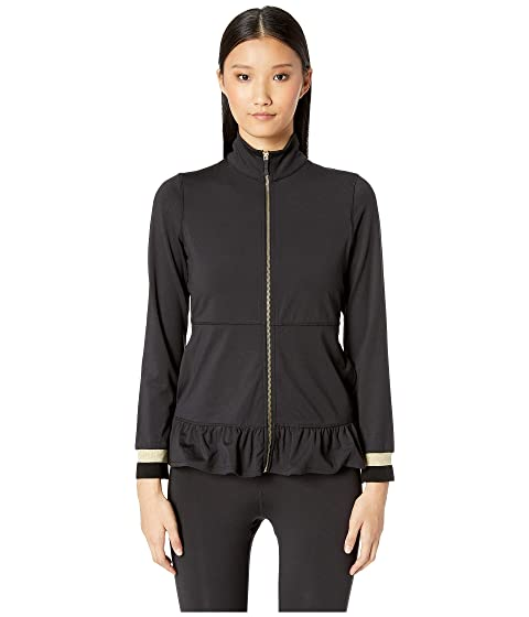 Kate Spade New York Athleisure Dashing Beauty Ruffle Hem Jacket