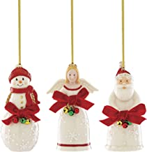 Lenox 886114 Jingles 3-Piece Ornament Set