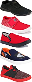 Shoefly Sports Running Shoes/Casual/Sneakers/Loafers Shoes for Men&Boys (Combo-(5)-1219-1221-1140-472-785)