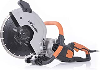 "Evolution Power Tools R300DCT 12"" Electric Disc Cutter, 15A/1800W"