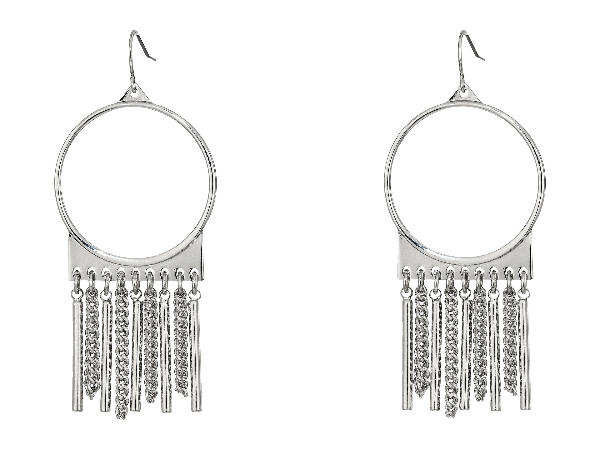 Pendientes para Mujer Steve Madden Ring with Chain Fringe Fish Hook Earrings  + Steve Madden en VeoyCompro.net