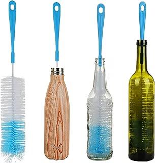 ALINK 17in Extra Long Bottle Cleaning Brush Cleaner for Washing Narrow Neck Beer, Wine, Kombucha, Thermos, Nalgene, Carafe, Yeti, S¡¯Well, Brewing Bottles, Hummingbird Feeder
