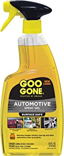 Goo Gone Automotive - Cleans Auto Interiors, Auto Bodies and Rims, Removes Bugs, Stickers, Paint and More - 24 Fl. Oz.