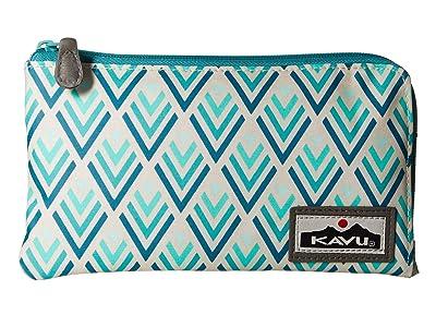 KAVU Cammi Clutch (Ocean Tile) Clutch Handbags