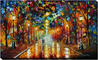 Picture Perfect International Giclee Stretched Wall Art by Leonid Afremov Farewell to Anger Artists-Canvas, 24