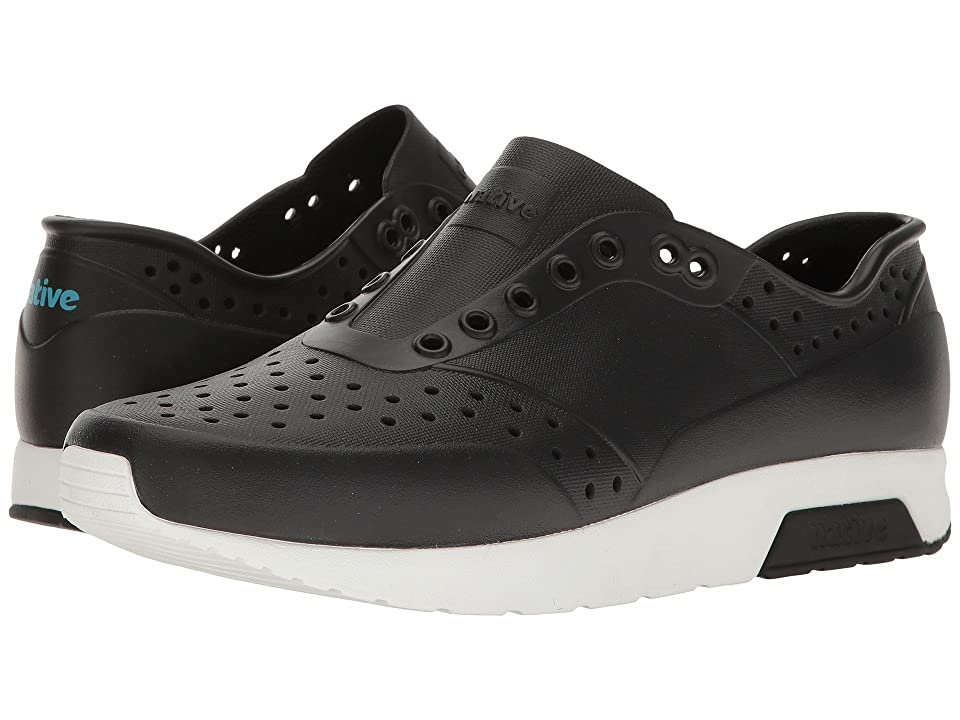 Native Shoes Lennox (Jiffy Black/Shell White) Athletic Shoes