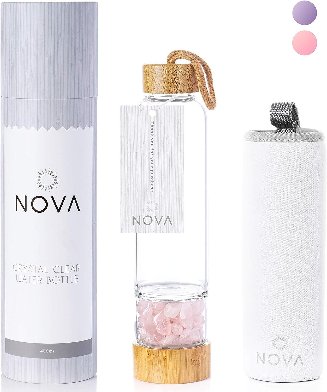 Crystal Elixir Infused Max 49% OFF Gem Water Challenge the lowest price of Japan ☆ Lid Bottle – â Leak-Proof