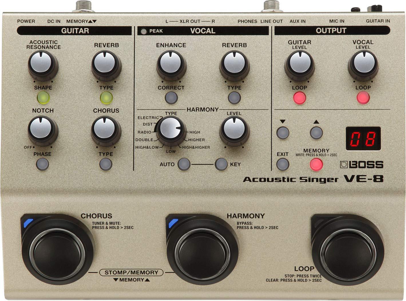 リンク:VE-8 Acoustic Singer