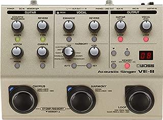BOSS Acoustic Singer Effects Processor {edal (VE-8)