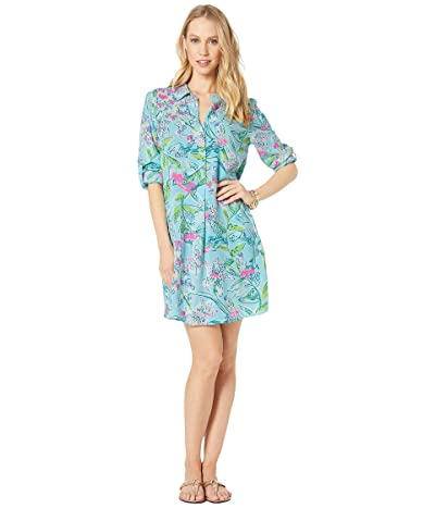 Lilly Pulitzer Lillith Tunic Dress (Bali Blue Sway This Way) Women