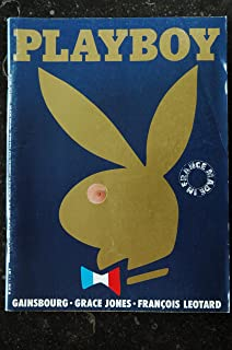 PLAYBOY 001 NUMERO 1 SEPTEMBRE 1985 GAINSBOURG GRACE JONES MADONNA INTEGRAL NUDE PAR LEE FRIEDLANDER