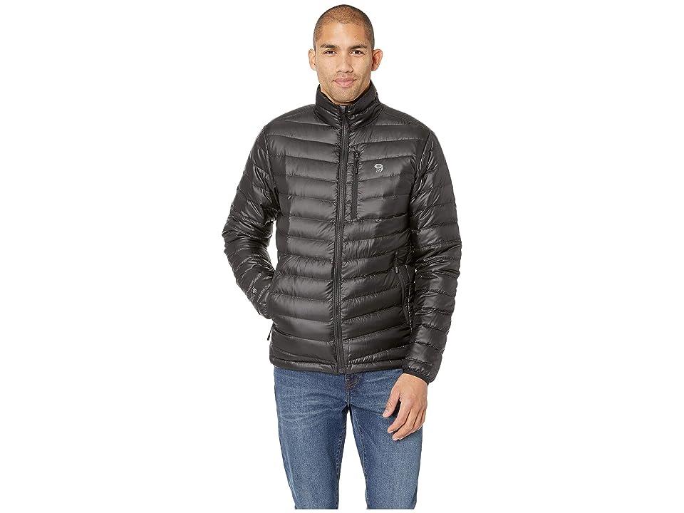 Mountain Hardwear Nitroustm Down Jacket (Black) Men