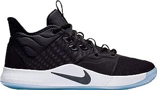 Men's PG 3 Basketball Shoes - Black/White,18M US