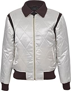 Men's Drive Gold Scorpion Satin Fitted Film Movie Jacket