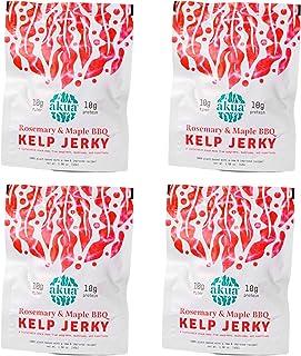 AKUA Kelp Jerky Seaweed Snack | Delicious New Flavor Recipe, Sustainably Ocean-Farmed Kelp | Non-GMO, Gluten-Free, Nutrien...