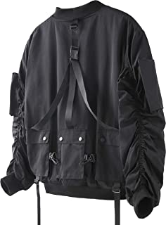 VIISHOW メンズ オシャレジャケット オシャレコート 人気ブルゾン ゆったり 軽量 厚手 長袖 無地 上品 防寒 上着