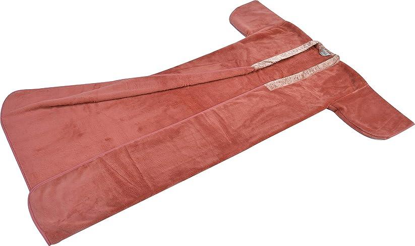 理由の頭の上ビーズ西川(Nishikawa) 着る毛布 ピンク フリーサイズ 140×195㎝ 日本製 洗える 夜着毛布 かいまき毛布 静電気抑制 2YGE1080