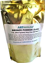 Bronze Powder 325-mesh 1lb - Use for Cold Casting and Inlay Work