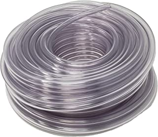Rollerflex Food Grade Crystal Clear Vinyl Tubing, 3/8-Inch ID x 1/2-Inch OD, 100-FT