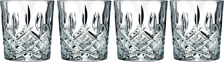Marquis By Waterford 165118 Markham Double Old Fashioned Glasses, Set of 4 11 oz