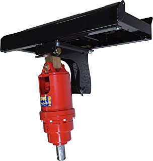 Titan Attachments HD Skid Steer Auger Frame & Bracket Post Hole Digger w/ 4500 PSI Planetary Drive