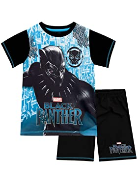 Marvel Black Panther Boys Pajamas