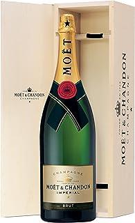Moët & Chandon Brut Impérial Jeroboam Champagner Trocken mit Holzkiste 1 x 3 l