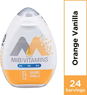 Mio Vitamins Orange Vanilla (Pack of 4)