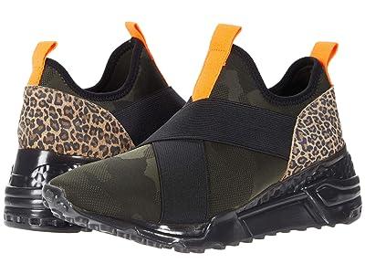 Steve Madden Cryme Sneaker (Leopard Multi) Women